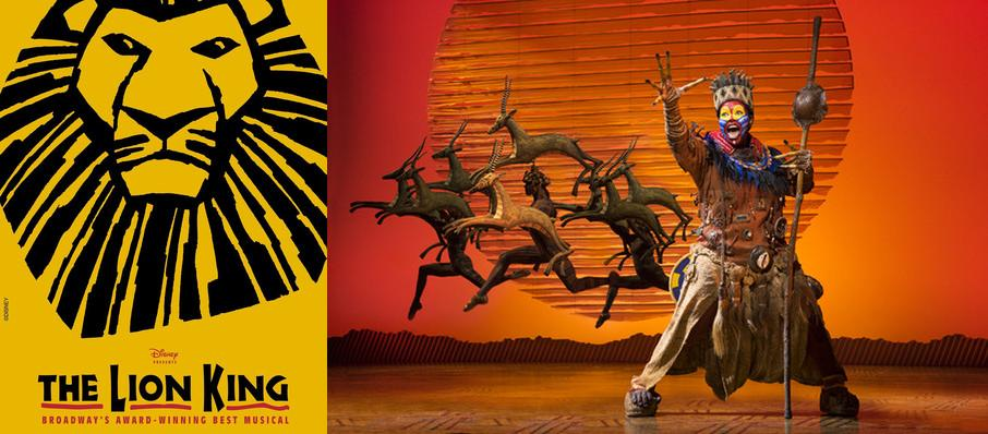 The Lion King at Koger Center For The Arts