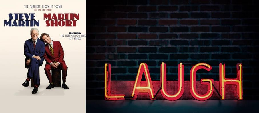 Steve Martin & Martin Short at Township Auditorium