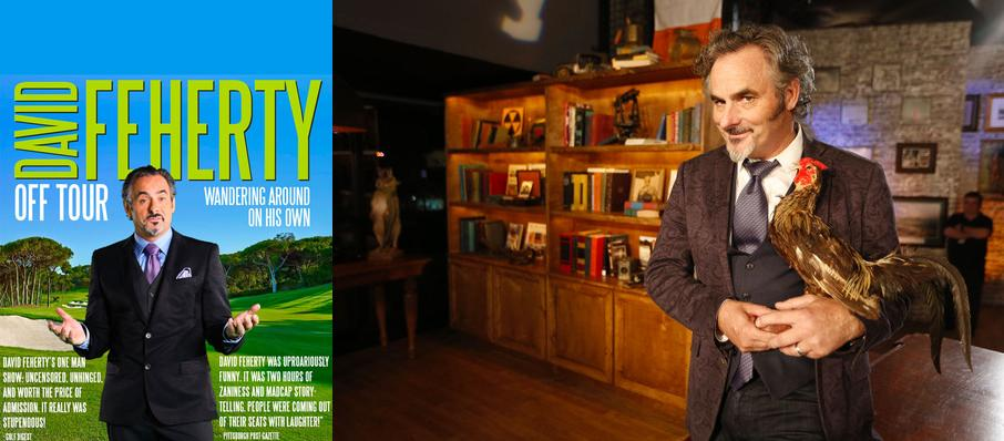 David Feherty at Koger Center For The Arts