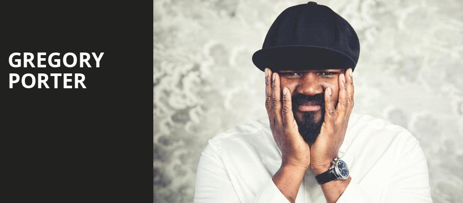 Gregory Porter, Koger Center For The Arts, Columbia
