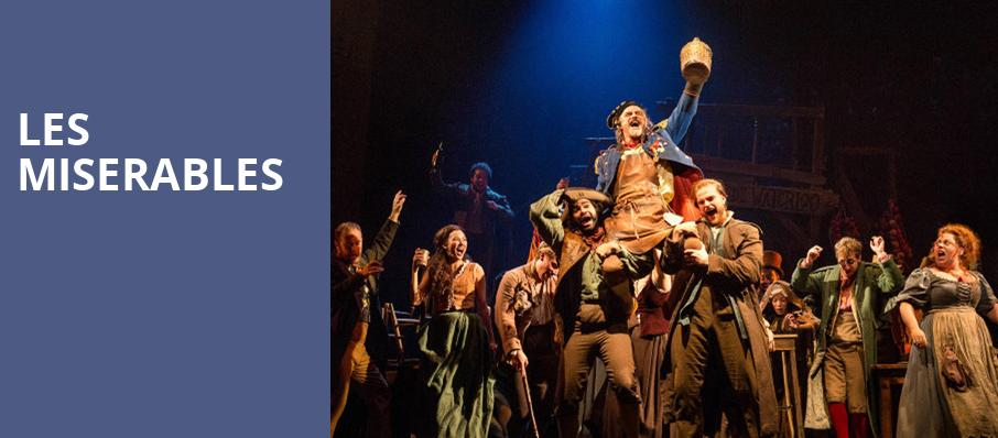 Les Miserables, Koger Center For The Arts, Columbia